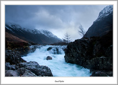 Winter In Glencoe At Clachaig (flatfoot471) Tags: winter rural landscape scotland waterfall unitedkingdom glencoe normal highlandsislands rivercoe 2016 clachaig highlandislands