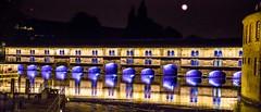 Barrage Vauban by night - Strasbourg (Bouhsina Photography) Tags: light france color monument water night canon violet strasbourg alsace barrage petitefrance couleur petite vauban brillant rhin bouhsina 5diii ef247028ii bouhsinaphotography