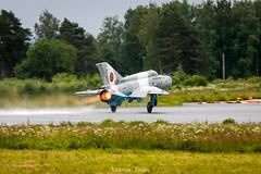MiG-21 (Tuomas Tuisku) Tags: finland airport hawk airshow kuo kuopio mig midnighthawks efku mikojangurevit