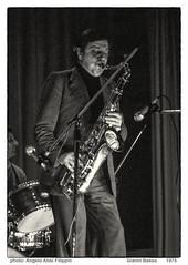 Gianni Basso 1975 (Analog Archive - Archivio Analogico ) (Angelo Aldo Filippin) Tags: bw music monochrome blackwhite concert live jazz monotone bn sax bianconero monocromatico giannibasso archivioanalogico analogarchive
