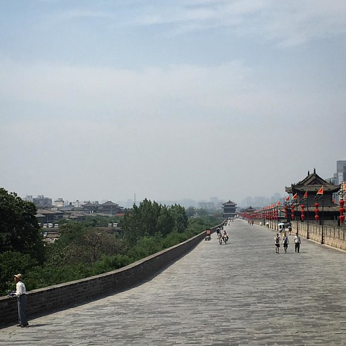 Southeast corner, Xi'an City Wall.