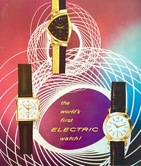 Vintage Ad - 1950s Hamilton Watches (Christian Montone) Tags: ads advertising vintage vintageads vintagegraphics