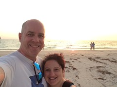 Sunset selfie (KFiabane) Tags: mike florida krista clearwater