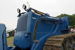 UK, Woolpit Steam Rally, Vickers VR180 Vigor Bulldozer (Nik Morris (van Leiden)) Tags: uk tractor rural suffolk country rally steam bulldozer vickers crawler vigor woolpit vr180 pfordhamplant