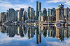Downtown Vancouver City Skyline, British Columbia, Canada (Feng Wei Photography) Tags: ocean ca city travel vacation canada reflection horizontal skyline vancouver skyscraper outdoors boat scenery downtown ship britishcolumbia scenic historic northamerica stanleypark coalharbor colorimage