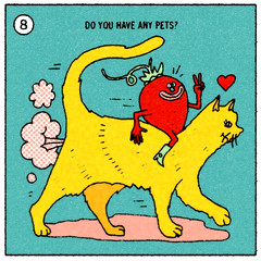 8-do you have any pets (jeremy pettis) Tags: art illustration portland design sketch drawing or illustrated great jeremy nike doodle milwaukee interview wi answers thangs questionnaire pettis fantastiq jeremypettis