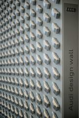 The wall (*Capture the Moment*) Tags: cars museum munich mnchen bokeh f14 details autos audi pinakothekdermoderne 2016 leicalenses novoflexadapter 75mm14 fahrzeugeverkehr sonya7ii artgalleryofmodernarts