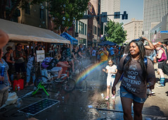 Rainbows and Smiles (fuzzzEe) Tags: gay pittsburgh bubbles rainbows pittsburghpride