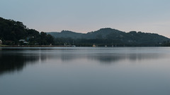 Drizzly morning at the waterfront (Merrillie) Tags: morning sea mountain seascape nature water landscape outdoors photography bay nikon scenery australia hills nsw newsouthwales centralcoast waterscape brisbanewater woywoy d5500 nswcentralcoast centralcoastnsw
