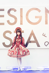 Lolita Fashion Model (Design Festa) Tags: fashion japan japanese tokyo design performance lolita fashionshow catwalk japanesegirl tokyobigsight artfestival lolitafashionshow sweetlolita japanartfestival lolitafashion japaneselolita japaneseartfestival