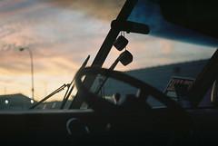 (joelbrendenphotography) Tags: sunset ny dice 50mm buffalo kodak rangefinder rv portra xenon schneider retina wny rustbelt 160 f20 portra160 iiic northbuffalo