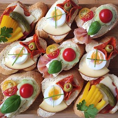 Euro 2016: Czech Republic vs Turkey: 0-2 (Bless Ltd) Tags: lunch czech pickles sandwiches cheeses appetisers boiledeggs partyfood minisandwiches opensandwiches sandwichplatter chlebky czechbreakfast slicedmeats varioustoppings czechrecipe continentalmeats obloenchlebky