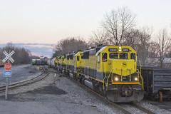 SU-99 at PC (sully7302) Tags: railroad cn train central nj trains amtrak transit penn locomotive erie cp ge lackawanna csx emd