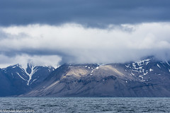 A view of Svalbard coast line from the Isfjord. (mjevons1) Tags: norway nikon svalbard alr d7200