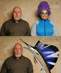 The Day I caught Kim being a Sailfish (Studio d'Xavier) Tags: diptych 365 sailfish explored werehere diptychstwoisbetterthanone 180366 june282016