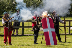 Medieval Siege Society, History Live 2016 (harrison-green) Tags: castle english heritage history canon eos living war outdoor sigma medieval age historical alive society reenactment reenactors siege 18250mm 700d