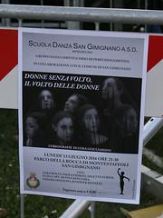 Dansvoorstelling San Gimignano (Roelie Wilms) Tags: sangimignano dans dance italy itali italia toscane ballet balett ballo bale