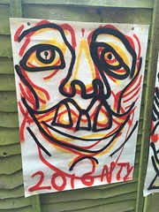 2016 nty (Krillinator) Tags: street red summer portrait people sun white black colour detail art nature face lines yellow illustration composition self work fence garden painting paper outside layout graffiti student paint artist different hand bright personal outdoor drawing expression contemporary background text creative free vivid surreal style images spray illustrative line marks size illustrator draw outlines simple produced bold foreground individual 2016