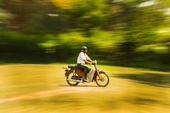 Panning. (souravpaul2) Tags: street travel india canon riding panning kolkata cityofjoy
