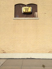 (J.G. Park) Tags: sign wall symbol shoppingcart missouri rockport plasticsign vacuumformedsign