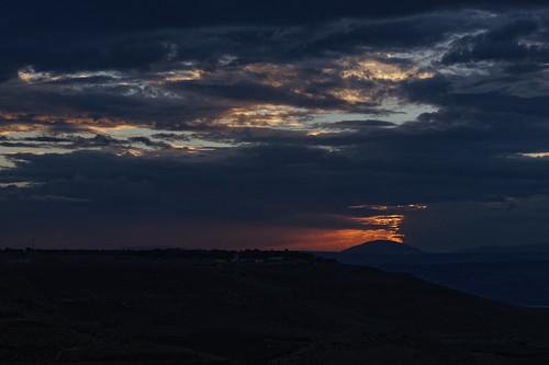 Sonnenuntergang Afik