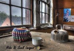 Morning Brew! (Hide & Seek Images) Tags: shoe george factory forgotten derelict barnsley