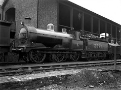 Midland Railway 3379 on shed (robmcrorie) Tags: train shed johnson rail railway loco trains class steam m locomotive enthusiast railways railfan midland 060 3379