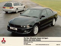2000 Mitsubishi Galant 2.0 Sport Saloon/Estate press photo (Spottedlaurel) Tags: mitsubishi galant