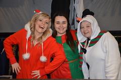 Cloakroom staff, early Christmas morning, Kingswood, Bristol (sophie_merlo) Tags: christmas bristol nightclub nightlife kingswood