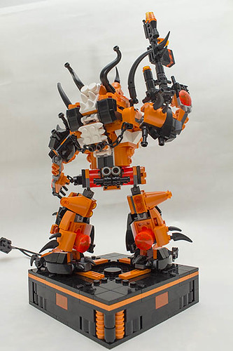 Vyplex Mechanima rear pose base