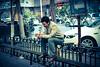 Waiting for (Riva*) Tags: china street travel people smile portraits landscape wait feature urumqi 人 tianshan 烏魯木齊 天山 ئۈرۈمچی canon6d ürümchi