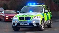 West Midlands Ambulance Service [5144] | Incident Officer's Rapid Response Vehicle | BMW X5 | LD63 XXP (CobraEmergencyPhotos) Tags: county uk west hospital lights blues ambulance bmw vehicle service herefordshire emergency incident paramedic rapid officer midlands 999 sirens x5 5144 wmas resonse