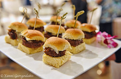 Sliders (Yankis) Tags: food dog design nikon photographer bokeh miami district burger social gourmet delicious event foodporn hamburger d3 freelance catering yanni sliders cater appetite 2470 nom georgoulakis