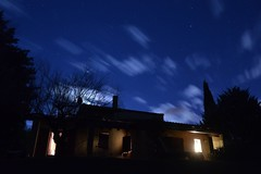 Clouds (Leela Channer) Tags: winter light moon house france cold building home clouds garden lights moving timelapse scenery time january freezing lapse sunspots 2015 eclaircie moonspots