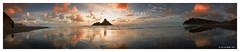 New Zealand: Karekare expanse (Karl von Moller) Tags: sunset beach landscape dramatic karekare karekarebeach