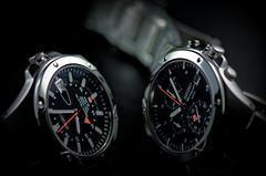 Seiko Sportura Duo - GMT vs. Alarm Chronograph (paflechien33) Tags: macro alarm nikon g duo seiko f28 vr chronograph afs gmt 105mm ifed sportura 7t32 d7000 8f56