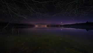 Dark November night
