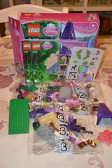 Lego Rapunzel Tower (MissLilieDolly) Tags: tower de tour lego mother disney collection pascal dolly miss rider rapunzel lilie maximus flynn mre eugne fitzherbert gothel raiponce missliliedolly