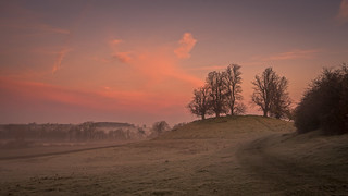 Burn Hill on a Frosty Morning