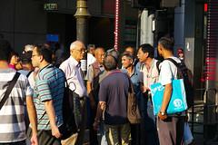 Umbrella Revolution #384 () Tags: road street leica city people umbrella hongkong freedom democracy movement day path candid protest rangefinder stranger demonstration revolution tele kowloon mongkok 90mm elmar socialevent f40 m9 occupy mmount umbrellarevolution leicam9 occupycentral leica90mmf4elmar    umbreallarevolution