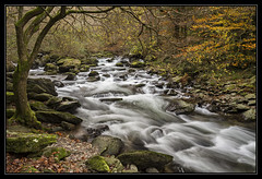 Downstream Watersmeet, Exmoor (Explored) (RattyBoots) Tags: beautiful canon landscape waterfall rapids 7d watersmeet exmoor polariser canon1022 riverlyn