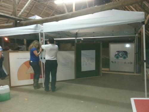 MUCYM-Preparándose para la Feria Nacional de Ciencia  y Tecnología