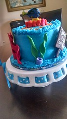 Finding Nemo Dory Cake (10) (Nola Party Boutique) Tags: cake finding nemo dora nolapartyboutique