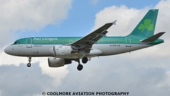 2014_07_07_LHR320 (COOLMORE PHOTOGRAPHY) Tags: airport heathrow airbus shamrock aerlingus lhr a319 319 egll a3191 airlineraircraft airbusa3191 heathroweiepr airlinerslondon
