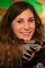 Kristin - Stranger #75 (HuNosBlues) Tags: city urban woman beautiful canon stranger hannover weihnachtsmarkt christmasfair 100strangers