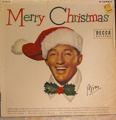 Merry Christmas with Bing (rumimume) Tags: christmas music holiday ontario canada art canon vintage photo still album sigma niagara memory record audio bing crosby picoftheday 2014 550d t2i rumimume song33rpm