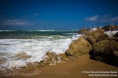 Waves Crashing on Southbroom Beach, Kwa-Zulu Natal