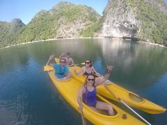 Photo de 14h - Avec Maxime, Anaïs en Kayak (Baie d'Along) - 23.11.2014