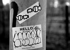 sticker (wojofoto) Tags: streetart amsterdam stickerart stickers wojo caser wolfgangjosten wojofoto