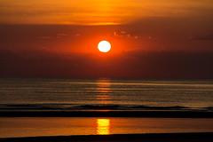 IMG_4744 (Leif Hinrichsen) Tags: sunset summer beach strand denmark island sonnenuntergang sommer insel northsea dänemark danmark nordsee abendhimmel sandstrand rømø röm nordseeinsel